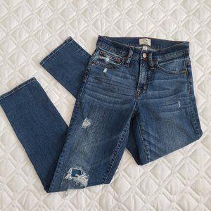 J.Crew Vintage Straight Distressed Jean